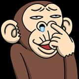 イラッと動く★お猿さん