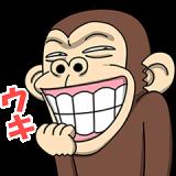 イラッと動く★お猿さん2