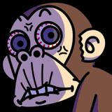 イラッとする★お猿さん4