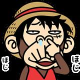 イラッとお猿さん × ONE PIECE